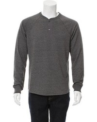 Vince Crew Neck Henley Sweater W Tags