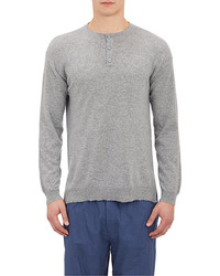 Barneys New York Henley Sweater
