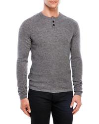 Lincs Cashmere Henley Sweater