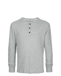 rag & bone Longsleeved Button T Shirt