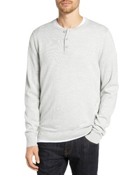 Nordstrom Men's Shop Regular Fit Wool Blend Henley Sweater