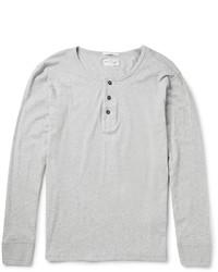 Gant Rugger Cotton Jersey Henley T Shirt