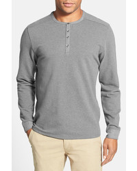 Vince Camuto Slim Fit Knit Henley