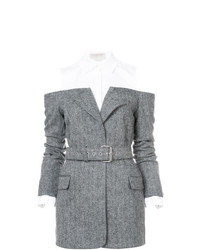 Monse Herringbone Hybrid Jacket