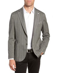 L.B.M. Lbm 1911 Classic Fit Herringbone Cotton Sport Coat