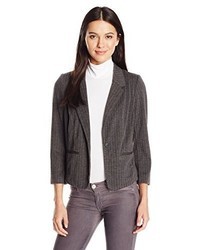 Kensie Stretch Herringbone Blazer