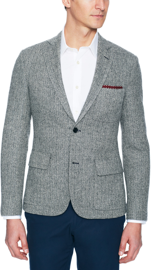Todd Snyder Herringbone Sport Coat | Where to buy & how to wear