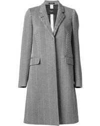 Grey Herringbone Coat