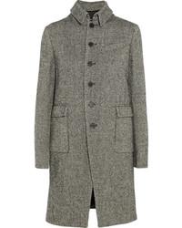 Joseph Cardiff Herringbone Wool Blend Tweed Coat
