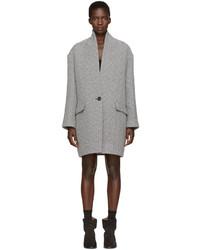 Etoile Isabel Marant Isabel Marant Etoile Grey Edilon Coat
