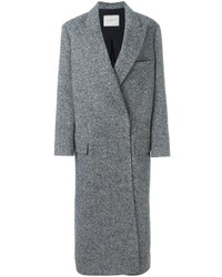Lanvin Long Herringbone Coat