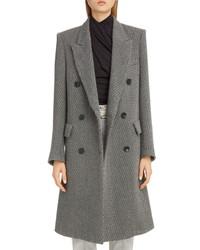 Isabel Marant Stripe Wool Wear Coat