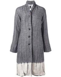 Suzusan Tie Dye Herringbone Coat