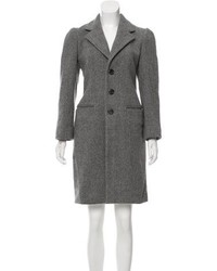 Marc Jacobs Wool Herringbone Coat