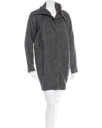 Yigal Azrouel Yigal Azroul Herringbone Button Up Coat