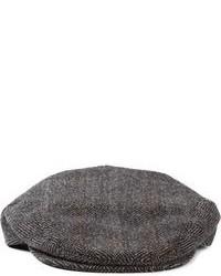 Dolce & Gabbana Herringbone Flat Cap