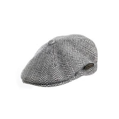3c3ccd7cb9 ... Kangol Hats Kangol Herringbone Flat Cap Grey