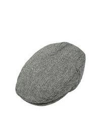 Wholesale Hats Jaxon Herringbone Flat Cap Grey Wholesale Pack