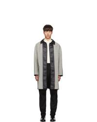 Givenchy Reversible White And Black Mac Coat