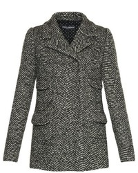 Four pocket herringbone tweed jacket medium 418105