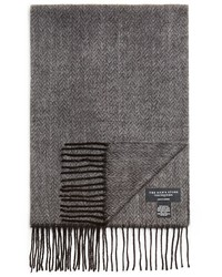 The Store At Bloomingdales Herringbone Scarf