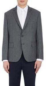 Brooklyn Tailors Herringbone Weave Sportcoat Grey Size 1