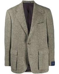 Polo Ralph Lauren Herringbone Single Breasted Blazer