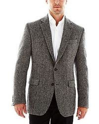 jcpenney Stafford Harris Tweed Sport Coat