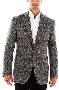 jcpenney Stafford Harris Tweed Sport Coat | Where to buy & how to wear