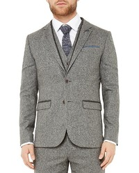 Ted Baker Montelo Herringbone Regular Fit Blazer
