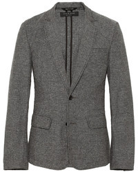 Rag and Bone Rag Bone Phillips Unstructured Herringbone Cotton Blend Blazer