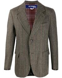 Junya Watanabe MAN Striped Panelled Blazer