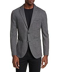 Boglioli Trim Fit Herringbone Wool Cotton Sport Coat