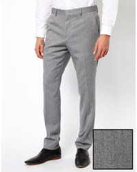 Men's Grey Dress Pants from Asos | Men's Fashion