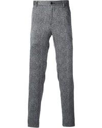 Giorgio Armani Herringbone Print Trouser