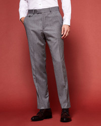 Ted Baker Sterling Herringbone Wool Pants