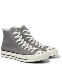 Grey High Top Sneakers