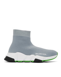 Balenciaga Grey Speed Sneakers