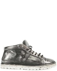 Marsèll Metallic Hi Top Sneakers