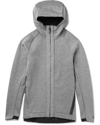Nike Cotton Blend Jersey Zip Up Hoodie
