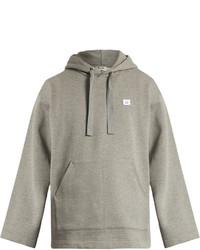 Acne Studios Florida Face Hooded Cotton Sweatshirt