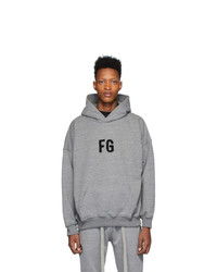 Fear Of God Grey Fg Everyday Hoodie
