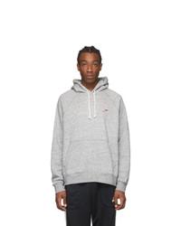Nike Grey Heritage Pullover Hoodie