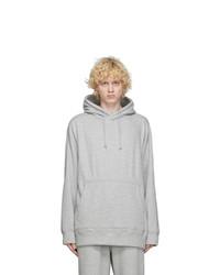 tss Grey Oversized Hoodie