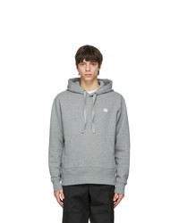 Acne Studios Grey Patch Hoodie