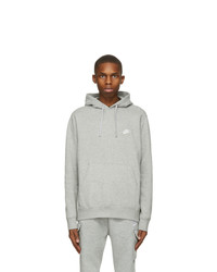 Nike Grey Sportswear Club Hoodie