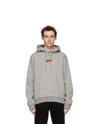 DSQUARED2 Grey Tape Cool Hoodie