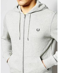 a53b79249dc Fred Perry Hoodie With Zip Up, $165 | Asos | Lookastic.com