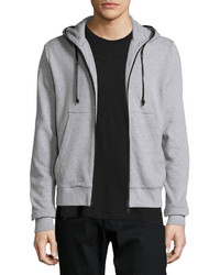Hudson Jeans Reed Inversion Hoodie Light Gray