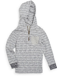 Sovereign Code Little Boys Striped Cotton Hoodie
